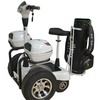 four-wheeled pedal assist scooter