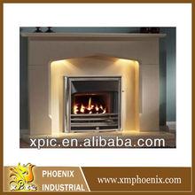 english style european wood burning fireplace (without fireplace insert)