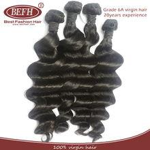 Brazilian loose wave no knots ,no shedding wholesale remy hair