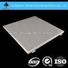 Solid perforated Aluminum ceiling panel pvdf coating