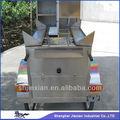 2014 móvel cachorro quente venda snack alimentos carrinho hs120b crepe carrinho china feita