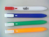 Professional Ball Pen Factory Produce Flat Bookmark Pen