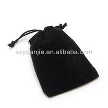 2014 wholesales promotion cheap high quanlity velvet pen tote bag