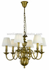 2014 new design copper chandelier, america style, china supplier