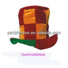 Colorful 100% Velvet Brazil Cheap Top Hats