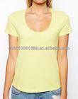 Clothing manufacturing companies fabric dye for women teeshirt