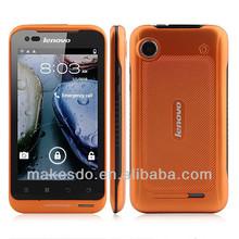 Lenovo LePhone A660 Android 4.0 MTK6577 Dual Core 3G GPS 4.0 Inch Gorilla Glass Screen IP67- Orange
