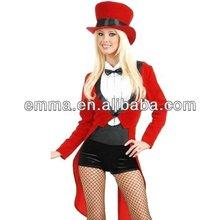 Caliente las ventas de las mujeres para adultos sexy traje de circo cw-1521