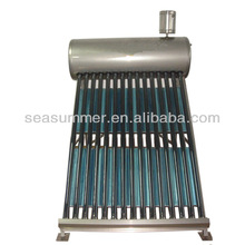 Integrative compact Indirect passive thermosiphon Solar water heater bracket have 5L assistant tank