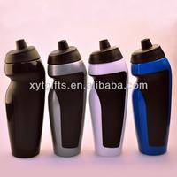 600lml LDPE Food grade disposable Plastic Blue water bottles manufacturer in shenzhen