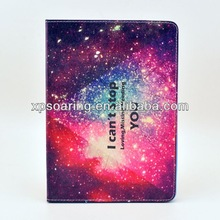Shining Stand leather case for ipad mini, Stars case pouch for ipad mini 2