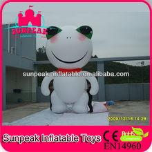 Frog Advertising Inflatable Helium Balloon, Outdoor Events Advertising Inflatables, Party Inflatables Balloon