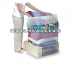 Nylon Vacuum Seal Underbed Bag For Bedding With Non Woven Bag Saving Space