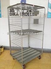 hospital roll cage for storage medical waste