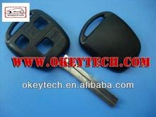 okeytech toyota yaris chiave telecomando per la toyota 3 pulsanti chiave toy40 lama per toyota yaris chiave
