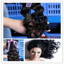 Cambodian loose wave no knots ,no shedding wholesale remy hair