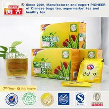 Chinese Aloe Vera Healthy Natural Best Herbal Slim Fast Green Tea