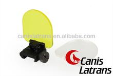Plegable cubierta de pantalla de fuerte Protector / Airsoft alcance accesorios CL33-0073