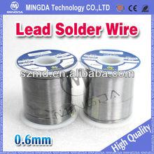 2014 mingda Lead solder wire ,0.6mm/0.8mm/1.0mm solder lead, soldering wire