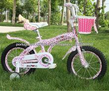 2014 superventas niños en bicicleta pegatinas flores de las muchachas bicicletas tatuajes