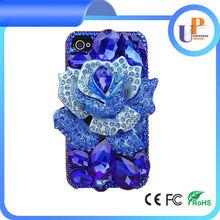rhinestone mobile phone cover for girls