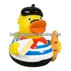 2014 hot selling rubber bath duck rubber monkey toy