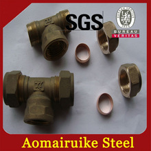 screw fittings for copper pipe