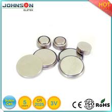 button cells batteries cr2025 battery 3V 150mAh