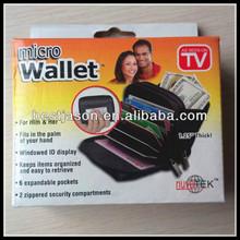 Credit Card Bag / Plam Size Magic Micro Wallet