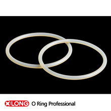 Good flexible white rubber o ring from china