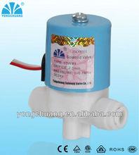 small plastic solenoid valve 2way normally closd /normally open
