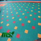 Outdoor Kindergarten Flooring , Kids Playground Equipment Flooring Covering for Sale