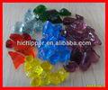 color de paisajismo piedra triturada de vidrio para las decoraciones