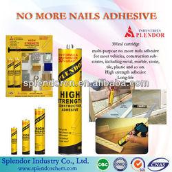 No More Nails Silicone Sealant/Super No Nails Glue