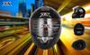 DOT New style double visors full face helmet JX-FF007 Mat BLACK