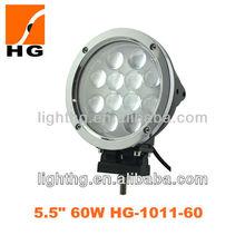 Super bright 6 inch Cree 60W LED Driving Light, led work light for suv,atv,offroad,mini jeep