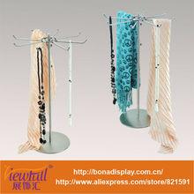 multi-purpose metal shelf for tie,scarf,necklace etc