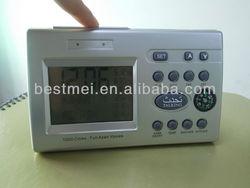 6 pray times on screen muslim prayer time clock