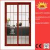 Top selling aluminium interior glass garage door price