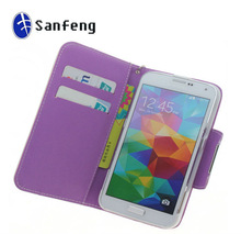 Guangzhou Cellular Accessories High-end Cell Phone Leather Case for Samsung Galaxy S5 I9600