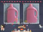 plastic liquid detergent opaque container 3L