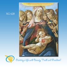 xiamen factory handmade famous jesus christ oil paintings