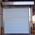 Inteligência h-6000 rolo de alumínio acima da porta/luxo aço inoxidável porta de segurança