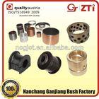 China Manufacture oil impregnate sintered bronze bearing bushing