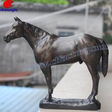 Resin Bronze Animal Statue, Polyresin Antique Imitation Animal Horse, Polyresin Horse Statue