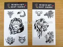 Eco-friendly use non toxic ink eagle tattoo designs art