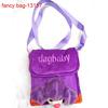 Dog Baby Design Purple Cartoon Shoulder Bag