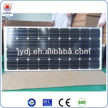 150w 12v price per watt mono solar panels