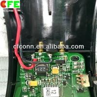 motor PCB board spring 2pin contact