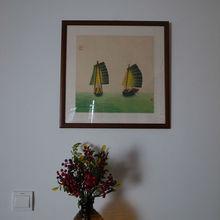 Chino pintado a mano de pintura